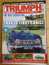 Triumph World No 115 Nov 2010 TR4a, Spitfire, Flying Ten