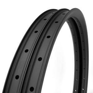 "LAST Stock 35mm Width Carbon 26"" MTB Clincher Rim Tubeless 1PAIR (2PCS)"