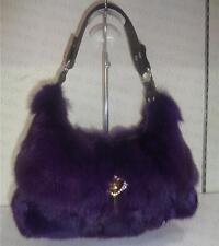 fox fur Women Bag Handbag Messenger Bag Leather Shoulder Satchel Purse Tote
