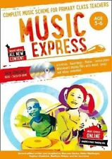 Music Express - Music Express: Age 5-6 (Book + 3 CDs + DVD-ROM): Complete music