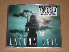LACUNA COIL - ENJOY THE SILENCE - CD SINGOLO 5 TRACKS SIGILLATO (SEALED)