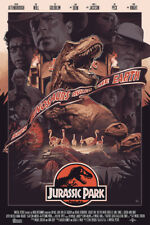 Jurassic Park Movie Print Film Action Wall Art Home Decor - Poster 24x36
