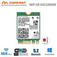 Intel Wi-Fi 6E 5374Mbps Wifi Card Bluetooth 5.2 AX210NGW NGFF 802.11AX MU-MIMO