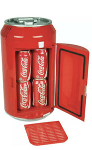 Koolatron 8 Can Official Coca-Cola AC/DC Electric Mini Fridge ~ New in Box!