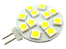 Lampada LED G4 Bispina 10V-30V Bianco Caldo Per Camper Casa Camion 12V e 24V