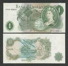 BANQUE DU ANGLETERRE - QEII Page 1970-8 - HORS-CIRCULATION Billets de banque )