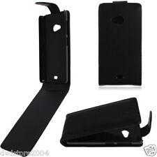 Pellicola + Custodia flip case ECO PELLE cover per Nokia Microsoft Lumia 535