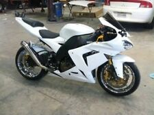 Fairing Fit for Kawasaki ZX10R 2004 2005 Plastic Gloss White ABS Injection Kit