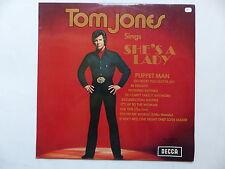 TOM JONES Sings She's a lady DECCA SKL 5089 B