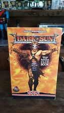 SSI TSR AD&D Advanced Dungeons & Dragons Dark Sun Wake of the Ravager Clue Book