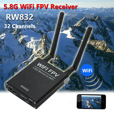 32Ch 5.8G WiFi Wireless FPV AV Transmitter RW832 Receiver For IOS Android Phone