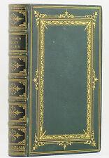 1871 BEWICK'S SELECT FABLES Aesop THOMAS BEWICK Wood Engravings NF Fine Binding