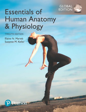 NEW - BOOK ONLY. NO CODE. Essentials of Human Anatomy & Physiology by Marieb 12E