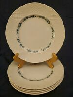 "5 SIMPSONS POTTERS ENGLAND MARLBOROUGH OLD ENGLISH IRONSTONE 10.5"" DINNER PLATES"