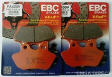Harley Davidson FXDS-CON Dyna Convertible (00 to 02) EBC V-Pad FRONT Brake Pads