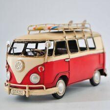 Collectible Collector Edition 1966 Decorative Mini Bus Tinplate Metal Home Art