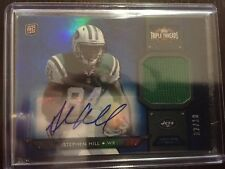 2012 Topps Triple Threads Stephen Hill Rookie Jersey Auto /10