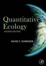 Quantitative Ecology, Schneider, David, Very Good, Hardcover