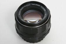 Pentax SMC Takumar 50mm f1.4 Lens  M42 Screw Mount