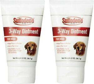Sulfodene 3-Way Ointment for Dogs 2 oz each - Pack of 2