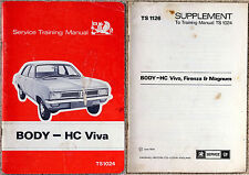HC Viva Service Training Manual TS1024  Body + TS1126 supplement