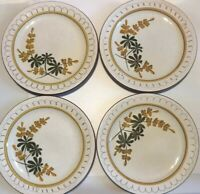 4 Stangl Pottery Golden Blossom Salad Plates 8""