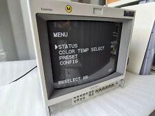Sony Trinitron PVM 14M2MDE CRT Monitor in excellent condition. YOM 2000