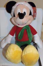 NEW Mickey Christmas Plush 18in & 2014 JCPENNEY Snowglobe L@@K Disney