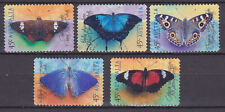 AUSTRALIA 1998 Butterflies Adhesive Yv 1703 to 1707 Used very fine