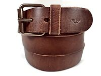 NEW Belt By Dockers Brown  Size 56 Genuine Leather