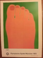 Tom Wesselmann Munich Olympics 1972 Poster Authorised Reproduction Pop Art