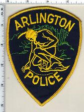 Arlington Police (Massachusetts) Shoulder Patch from 1985