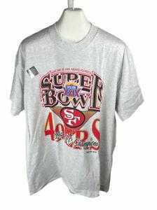 New Lee San Francisco 49ers 1994 Superbowl Championship TShirt Size XL