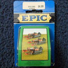 1995 epic ork gutrippa games workshop warhammer 6mm 40K orc army battlewagon mib