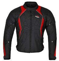 Men Motorcycle Winter Waterproof Textile Jacket,Motorbike Jacket with CE Armour