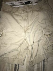 POLO By RALPH LAUREN Classic Chino Cargo Shorts W34 Khaki
