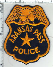 Aransas Pass Police (Texas) 1st Issue Shoulder Patch from the 1970's