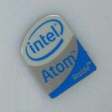 2 pcs Genuine Original Intel Atom Inside Sticker Case Badge Label 16 mm x 12 mm