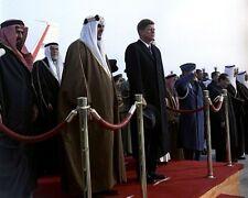 President John F. Kennedy at arrival of King Saud of Saudi Arabia New 8x10 Photo