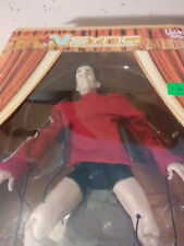 """2000 Living Toyz Nsync large 10"""" Marionette Jc Chasez in box- pants off variant"""
