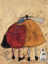 Sam Toft - Hugs On The Way Home - Ready Framed Canvas