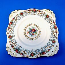 Square Tuscan Orleans Cake Plate 8 3/4""