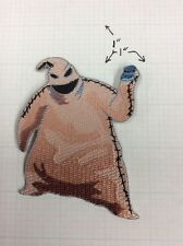 The Nightmare Before Christmas Oogie Boogie Figure Embroidered Patch, NEW UNUSED