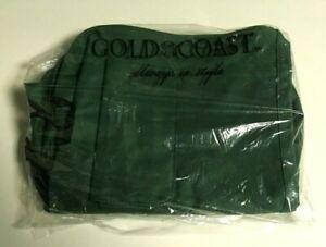 GOLD COAST GREEN SHOULDER DUFFLE BAG NEW NWT SPORTS GYM SCHOOL TRAVEL LUGGAGE