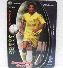 FOOTBALL CHAMPIONS Italiano 2001-02 - BERNARDO CORRADI - 43/230 CHIEVO