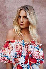 Backless Casual Floral Tops for Women