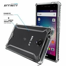 POETIC [Affinity Series] For BLU R1 HD Dual material Protective Bumper Case CLR