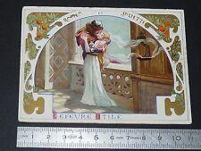 CHROMO LEFEVRE-UTILE LU NANTES 1887-1899 ROMEO ET JULIETTE