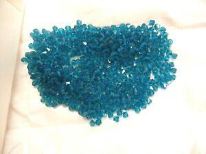 140 preciosa bicone crystal beads,5mm blue zircon  SPECIAL