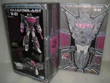 Transformers Toy W-01 Quakeblast Cloud9 C9 Shockwave